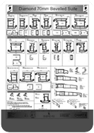 Profile Charts For The Profile Extrusions We Stock